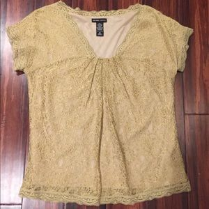 New York & Co Lace Top